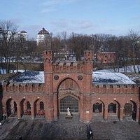 Росгартенские ворота ДЕР-ДОНА 1803 год