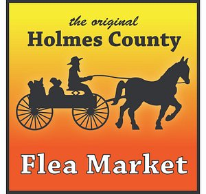 The iconic horse and buggy logo synonymous with the Market!