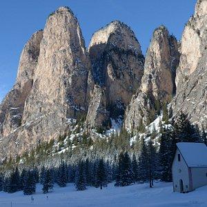 La Cappella ed i monti