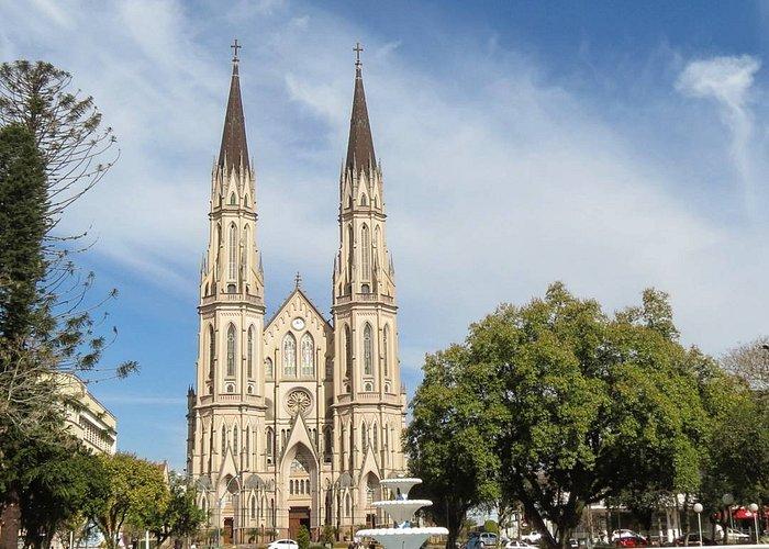 Getúlio Vargas Square and S.J.Batista Cathedral