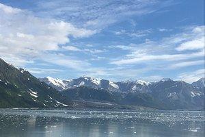 Take in all the scenery around the glacier