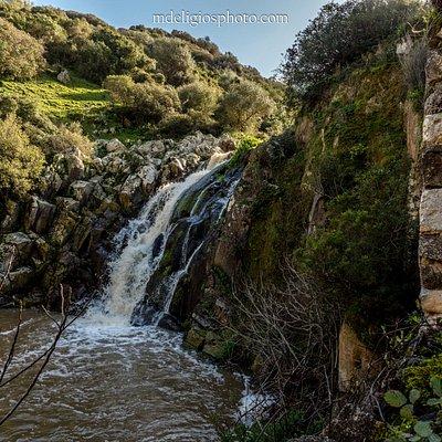La cascata e parte del mulino