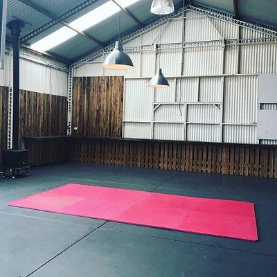 Yoga studio & private massage room