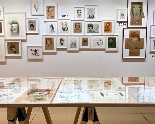"""""""Drawings : 1988-2018 Last 30 years Yoshitomo Nara"""" 2018年2月9日(金) – 2018年3月8日(木)"""