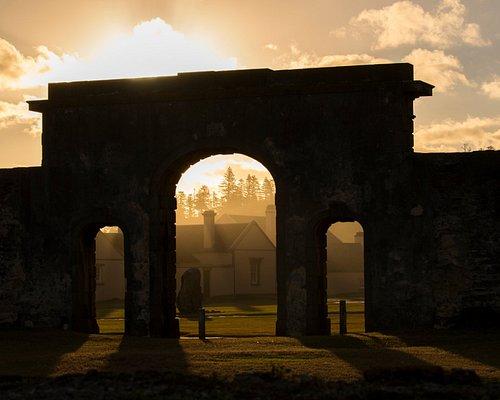 Gallows Gate at sunset - Kingston