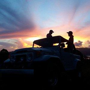 Morning Jeep