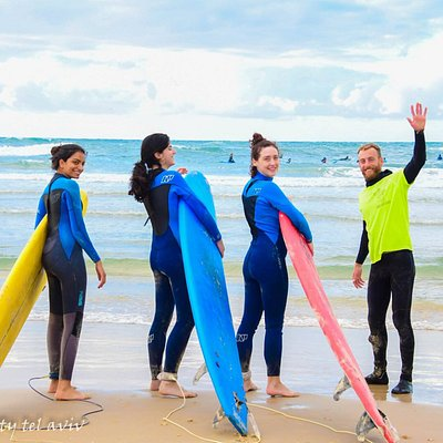 Chilli Surf School lessons and activity - Tel Aviv