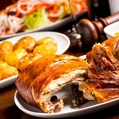 Have a bite of the crispiest roasted suckling pig