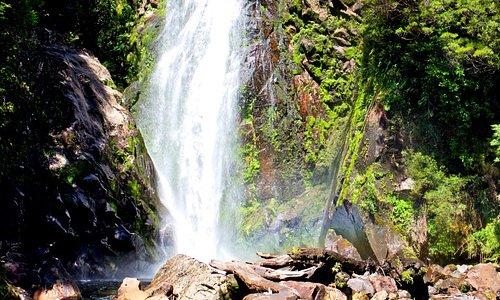 Barba del Viejo falls