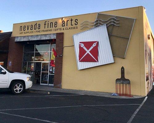 Nevada Fine Arts Store Front