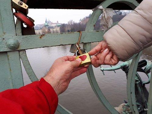 Cadeado do Amor na Ponte