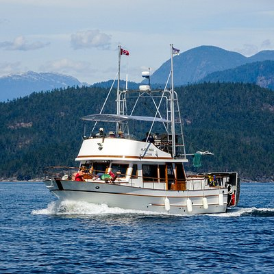 Our boat, the Agate Pass