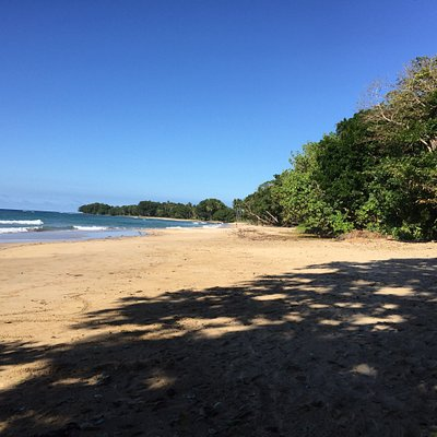 Seul au monde Très belle plage et l'eau est absolument transparente  Elle ressemble à nacpan bea