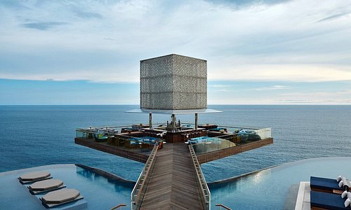 The Cube provides an inspiring focal point for the OMNIA Bali experience