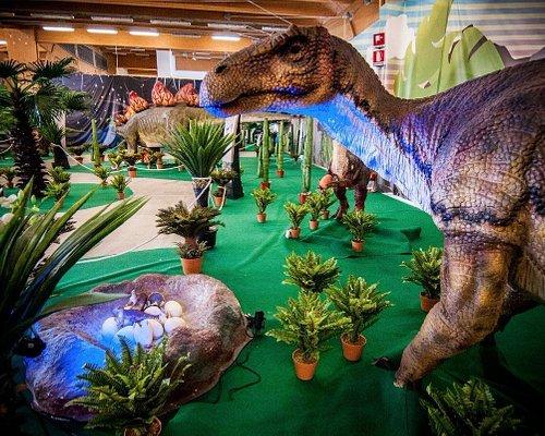Il Dino Park Interactive Dinosaurs è uno dei più grandi parchi preistorici al coperto d'Italia.