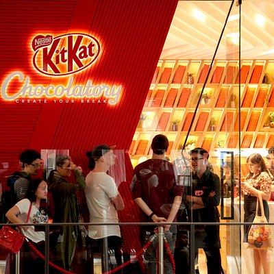 KitKat Chocolatory Melbourne Central