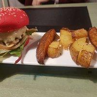 Mini-burger de vaca retinta, muy buena