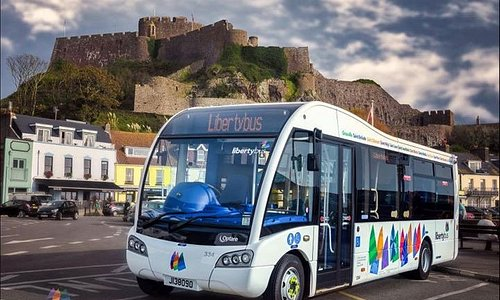 Lovely picture of our new bus in Gorey