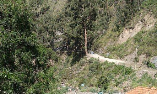 "breathtaking views of the complex and mountain peak ""Tunari"""