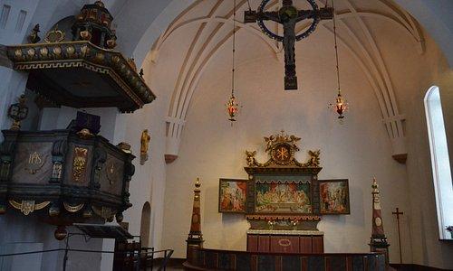 St. Olovs kyrka - interior