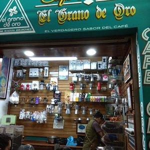Grano De Oro in the Mercado Benito Juárez.