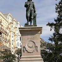 Estatua de Murillo.