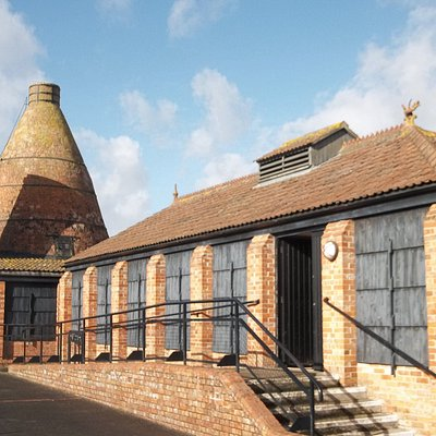 Outside the Brick and Tile Museum