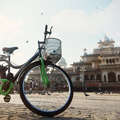 Cycling in Jaipur is the best way to discover the city!
