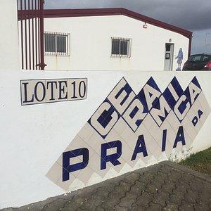 Outside of Ceramica da Praia