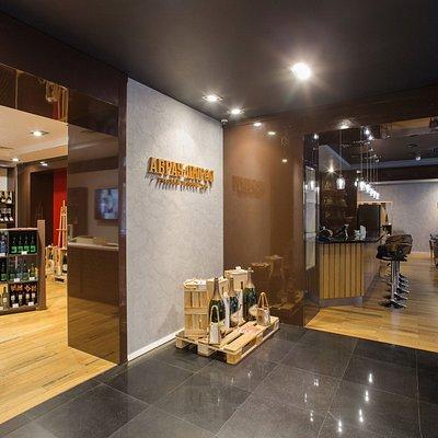 Винный бар и винотека Абрау-Дюрсо