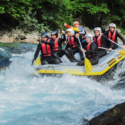 Rafting on Tara River in our 3RiversExpedition from Montenegro.