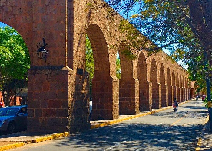 The Aqueduct in Morelia