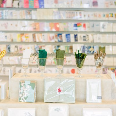 Curated selection of paper and gifts