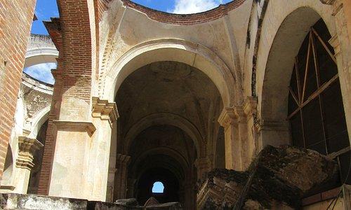 Antigua Catedral parte posterior
