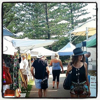 Walking through the markets