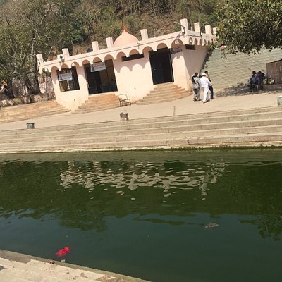 Water and temple