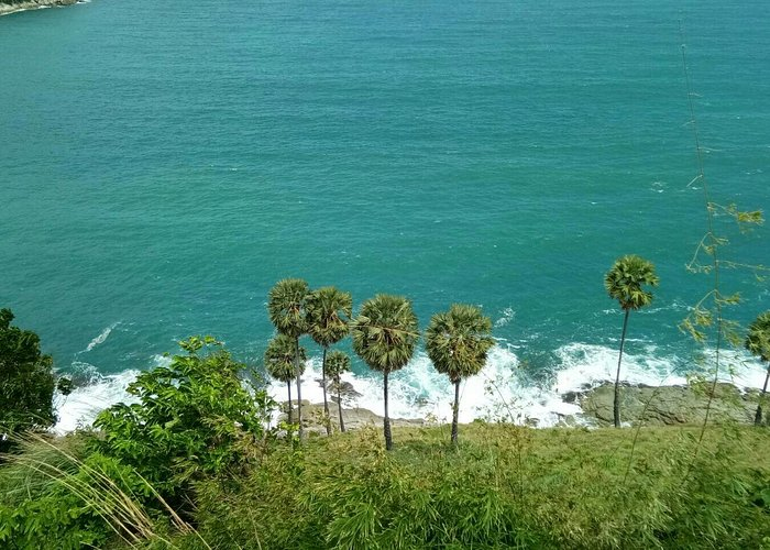 Indonesian tourism at Wind mills view point.