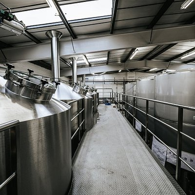 Visit the brewhouse by booking a tour