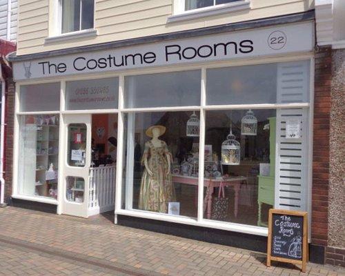 The shop front.