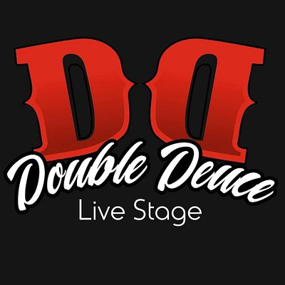 This is the logo of Double Deuce. Live Music Stage!