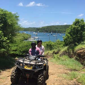 Stop on ATV trail for a pic