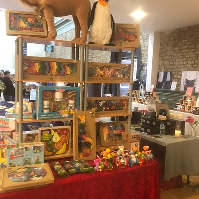 Fabulous gift and fashion items available in the Corn Hall