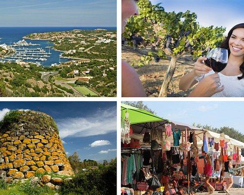 Costa Smeralda Sightseeing Tour,Archeo, P.Cervo,Market, Wine Tasting Shore Excursion FORTIEVENTI