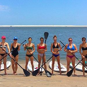 paddle boarding rentals Fernandina Beach