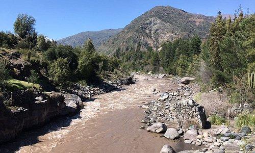 """Foto tomada desde el puente mecano de la localidad """"El Ingenio"""""""