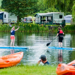 Paddle boarding River Nene Yarwell Mill Country Park