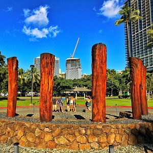 Great games and great weather in Waikiki