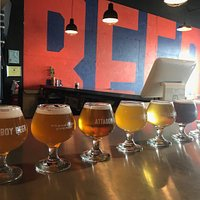 Flight of beers!