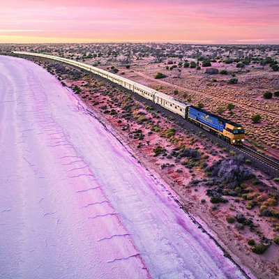 The Indian Pacific allows guests to travel through the heart of Australia in style.