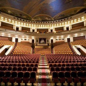 Зрительный зал Большой сцены